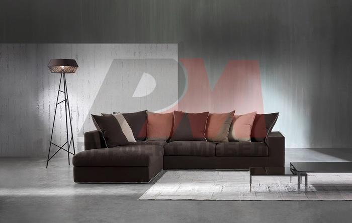 модерни ъглова мека мебел стабилна